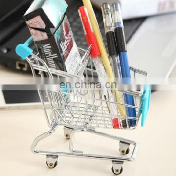 Universal Mini Grocery Shopping Cart Style Desktop Holder for iPhone 5