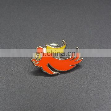 high-end iron 3D silicon badge