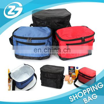 Custom wholesales nylon 210D 600D good quality handle food ICE lunch bag
