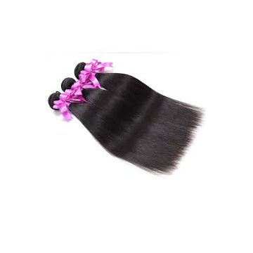 No Shedding Fade Straight Wave Cuticle Virgin Hair Weave 10inch - 20inch Bright Color For White Women