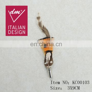 Fancy design artificial feather tassel frange