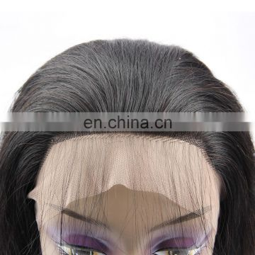 FUXIN new products Body wave Remy Brazilian virgin Human hair Full lace wig 180% density 10-22 inch large stock fast shipping