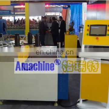 Automatic CNC arch profile bending machine for aluminum window and door with 3 rollers
