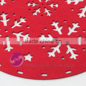Kitchen Craft Snowflake Xmas Tablemat/Felt Christmas Placemat