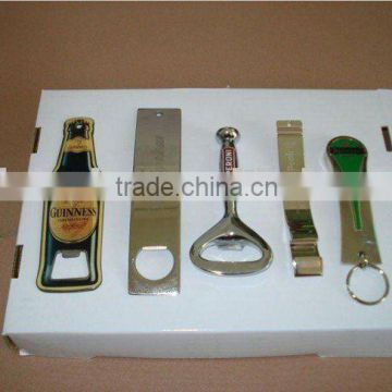 Metal custom beer bottle opener for promotion
