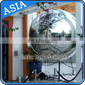 Hot sales new design inflatable advertising mirror balloon for decoration or show