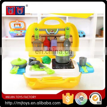Dinnerware in hangbag 2016 popular series toys set for kids