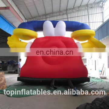 TOP inflatable cartoon telephone for advertisement,inflatable cute phone