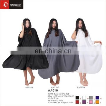 hot sale barber salon gown cape hairdresser hair cutting waterproof cloth tool delight