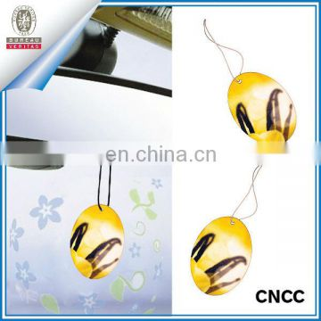 Hanging car perfume card for promotion (ZY20-5556)