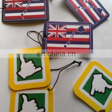 Great Britain flag auto paper air freshener