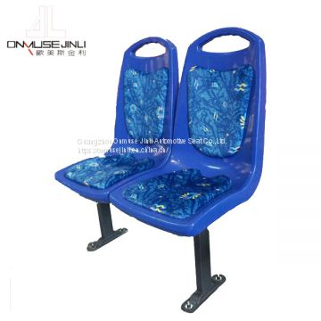 Best Custom Pattern Cushion Pad Plastic Injected City Bus Seat