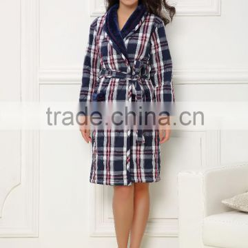 Alibaba Good Feedback couples nice look branded bathrobe