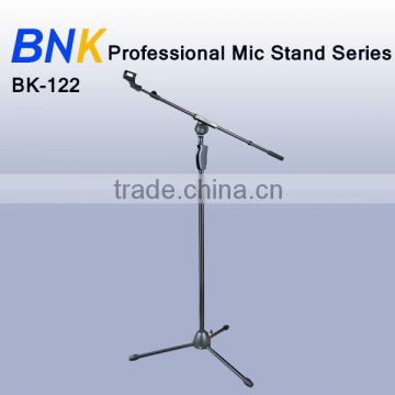 New arrival electronics chrome mics stand BK-122