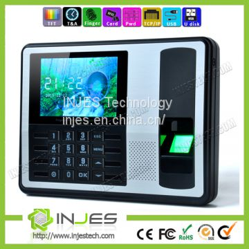 4.0inch Large Screen OEM ODM  Biometric Fingerprint Time Attendance System