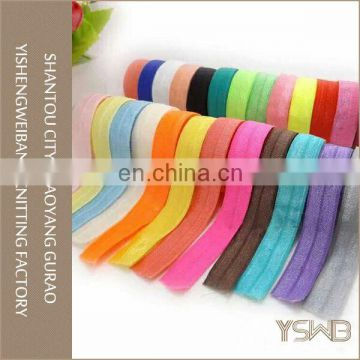 OEM fold over elastic belt for underwear accessories