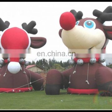 China Supplies Wholesale Inflatable Deer Antler Decoration Inflatable Christmas Decoration Deer On Sale