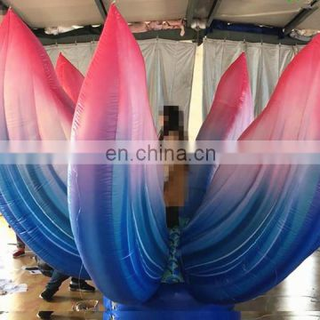 beautiful colorful inflatable burst flower inflatable flower for wedding decoration