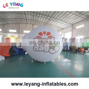 new design commercial inflatable giant sphere balloon with factory price