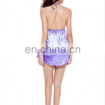 Yiwu Various Colors Erotic See Through Sexy Sleepwear Cotton For Women