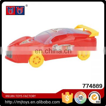 Meijin Best Gift wholesale cheap Toy Pull String Car with light for sale