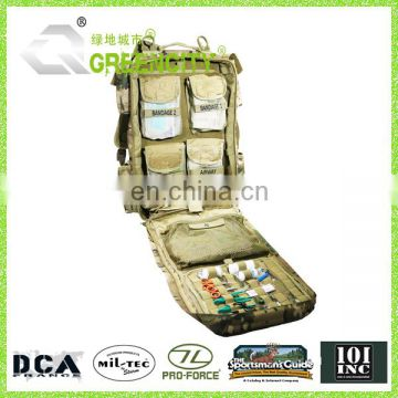 Tactical MOLLE Secure Loose Gear Medic Pouch Medical Kit Backpack
