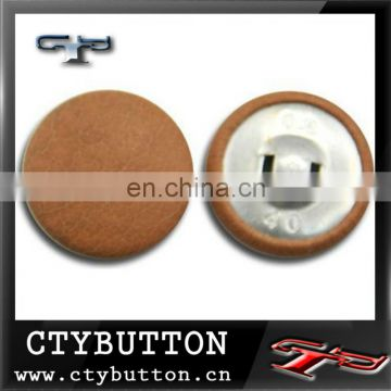 (FB010) leather coat buttons