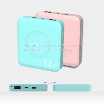 7200mAh wireless power bank