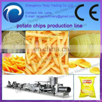 Small scale french fries potato chips production line 0086-13837162172