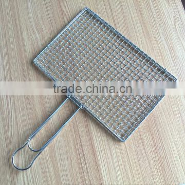 Wire Grill   Barbeque Bbq Wire Grill Clamp Non Stick Stainless Steel Bbq Grill