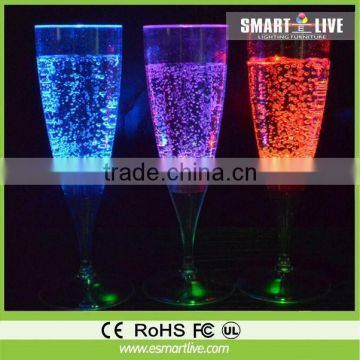 hot sell illuminated led furniture with battery bar chair for Night club hotel with colorful