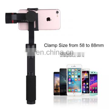 Wholesale Drop Shipping 3-Axis Stabilizer Handheld Gimbal,Factory Stock,Best Quality with Tripod Holder for Smartphone