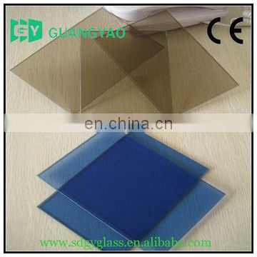 1.3-3mm Clear /colored /patterned Sheet Glass/float glass