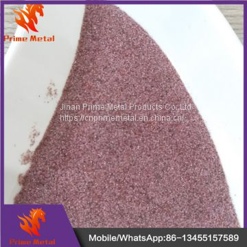 Pink Abrasive Garnet Sand for Water Jet Cutting