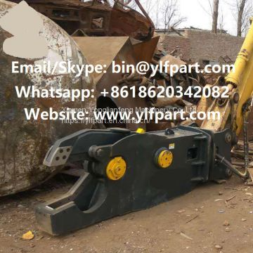 Steel cutting tool Excavator parts hydraulic metal cutting machine cutter pulverizer demolition shear