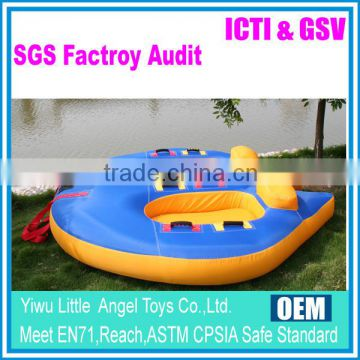 2 people inflatable surfing water tube sport