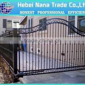 Modern Style Steel Main Gate Design For House / Morden Design Fence Gate ...