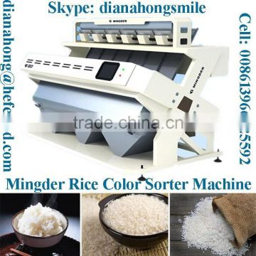 CCD Color Sorter Machine, 2048 Pixel Nikon Camera color sorter CE, ISO Certificated from Mingder factory good price