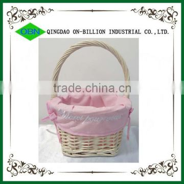 Wedding decoration flower girl basket