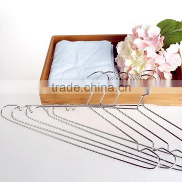 delicate rose gold copper metal wire clothes hanger