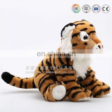 custom lifelike stuffed leopard plush toys with EN71 ISO9001 standard plush animal