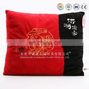 Stuffed toys embroidered Christmas cushions