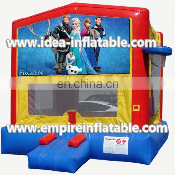 custom frozen theme inflatable jumping house ID-MD1007