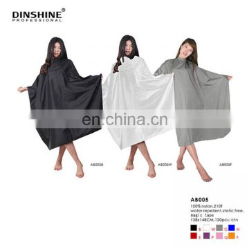 cheap good quality Barber cape dresses with metal snaps