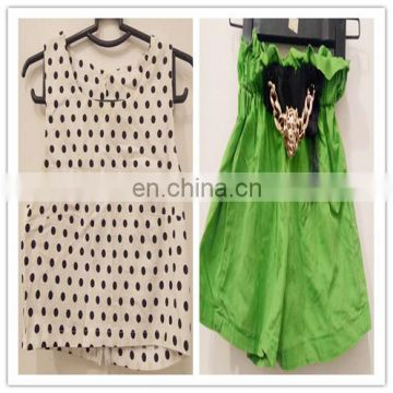 Used kids Clothing Mixed and second hand girl dresses pants