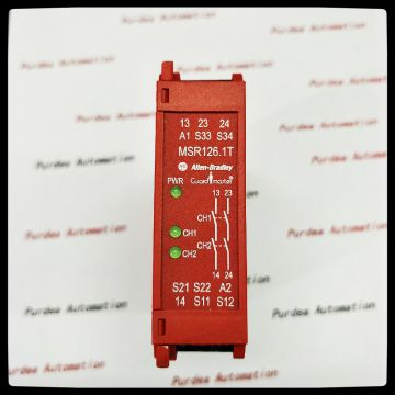 3 N.o. Safety Monitoring Relay 440r-m23145 Msr138dp Safety Relay