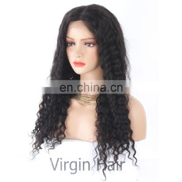 Kinky curly human hair wigs hair products for black women