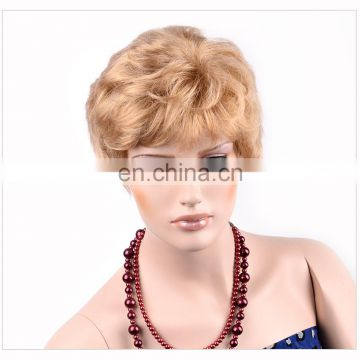 best selling products light brown sexy synthetic brauty hair wig for women