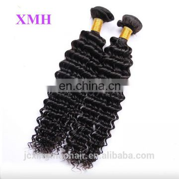 Wholesale In Stock Deep Wave Natural 100% Unprocessed Original Peruvian Hair