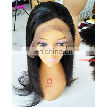 "New arrival full lace human hair wigs 4x4""silk top brazilian virgin hair wigs straight"